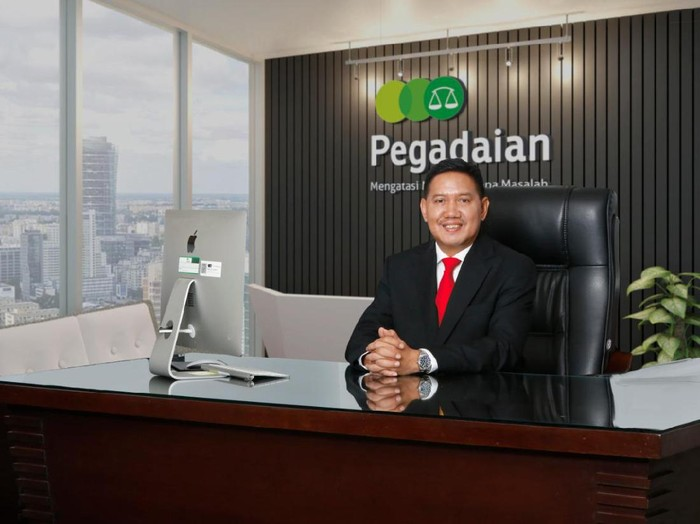 Direktur Utama PT Pegadaian (Persero) Kuswiyoto.