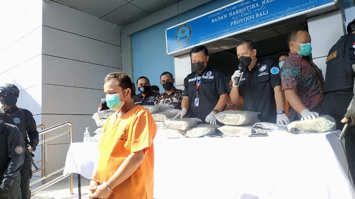 DPO pemasok ganja ke Bali dibekuk BNN