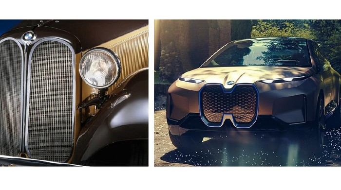 Evolusi grill BMW dari masa ke masa