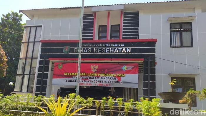 Kantor Dinas Kesehatan Kabupaten Magelang.