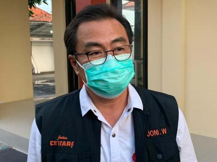 Ketua Satgas Kuratif COVID-19 Jatim Dr Joni Wahyuhadi