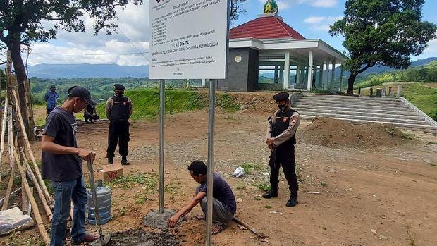 KPK sita tanah milik tersangka  Nurdin Abdullah di Maros, Sulawesi Selatan