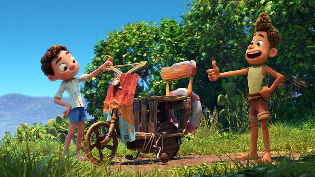 Set in a beautiful seaside town on the Italian Riviera, Disney and Pixar's