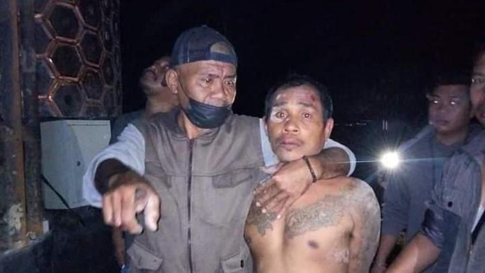 Pelaku pencurian pelat tugu perbatasan Samarinda -Kutai Kartanegara