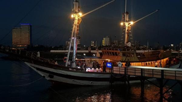 Tujuan Sandiaga datang ke Makassar adalah untuk melihat destinasi pariwisata dan mendukung penyelenggaraan F8 dan Makassar Jazz. (Istimewa)(Istimewa)