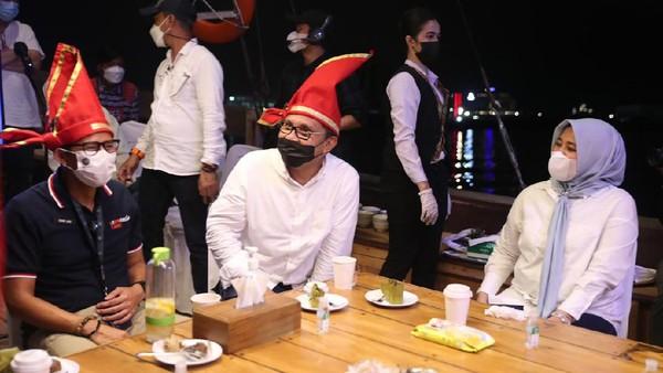 Moh Ramadhan memaparkan, ada 8 program unggulan dalam perkemabngan potensi pariwisata di Makassar di antaranya agenda mice bulanan, destinasi kepariwisataan, skill kompetensi pariwisata, destinasi unggulan kepulauan supermonde, pengembangan pulau Lakkang, kampung budaya Paropo, 5000 lorong wisata dan yang terpenting penyelenggaraan kembali F8. (Istimewa)
