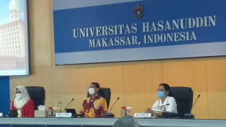 Sandiaga Uno di Unhas, Makassar.