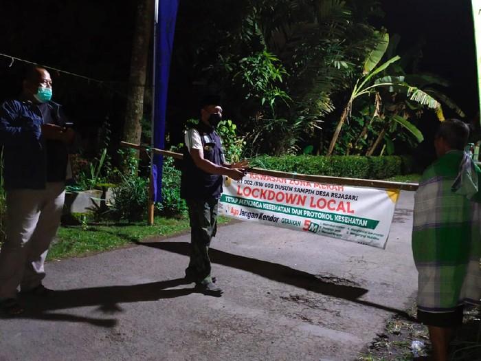 Satu RT di Banjar lockdown