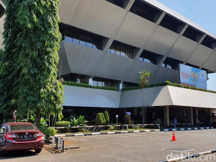 Suasana gedung DPRD Jateng, Jumat (18/6/2021).