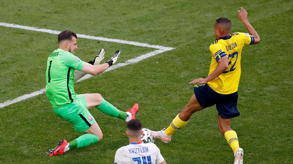 Hasil Swedia Vs Slovakia: Penalti Forsberg Menangkan Blagult