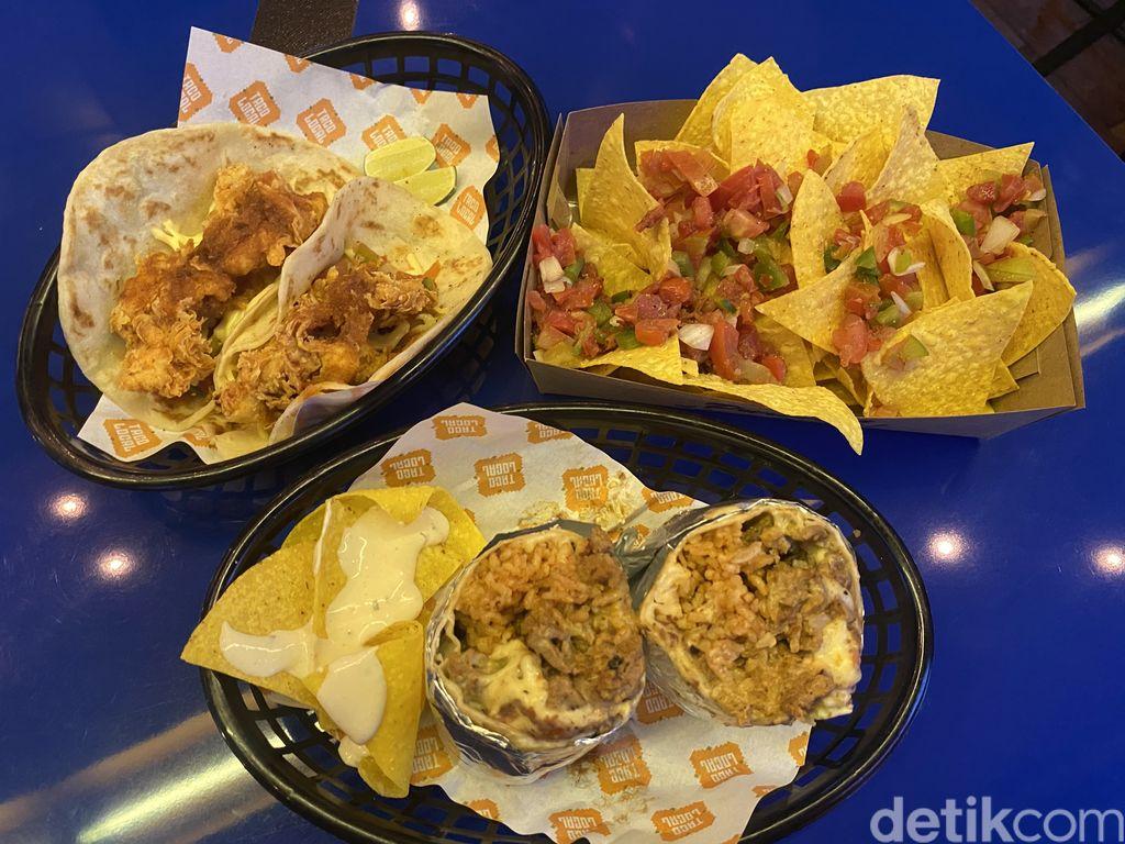 Taco Local :  Renyah Enak Taco Chicken hingga Nachos Con Salsa Khas Meksiko