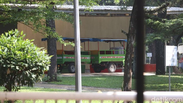Wisata ini menggabungkan tiga konsep, yaitu taman pendidikan, taman terbuka hijau dna taman rekreasi. (Wisma Putra/detikcom)