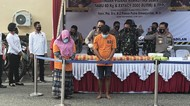 Polisi Gagalkan Peredaran Sabu 60 Kg Jaringan Internasional di Sumut