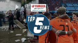 Pos Penyekatan Suramadu Dirusak & Belanda Gilas Austria di Euro 2020