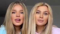 Viral Ibu-ibu Cantik Awet Muda Banget, Sampai Dikira Kembar dengan Anak