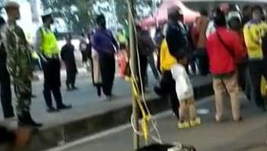 Polda Jatim Tambah Personel Antisipasi Perusakan Pos Penyekatan Suramadu
