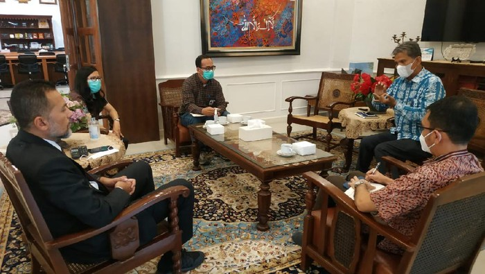 Wagub Sumut Ijeck bertemu perwakilan Ombudsman Sumut (Foto: Istimewa)