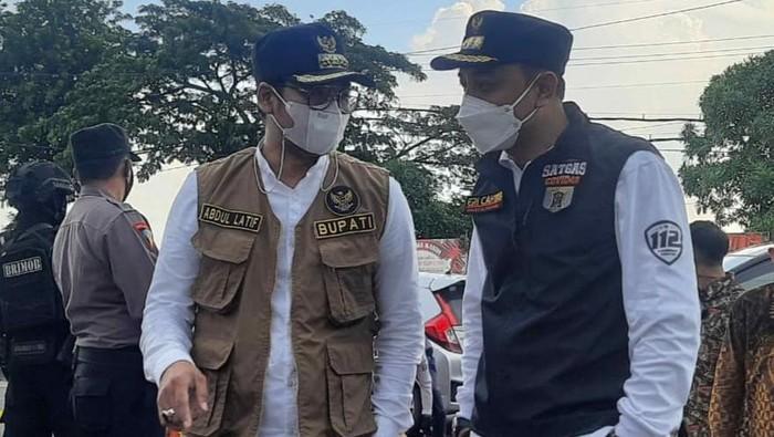 Wali Kota Surabaya Eri Cahyadi dan Bupati Bangkalan