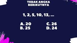 Beberapa tes psikologi kadang menguji kemampuan logika matematika kamu. Teka-teki berikut bisa jadi latihan.