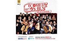 Majelis Lucu Indonesia Ciptakan Panggung Stand Up Comedy dalam Bus