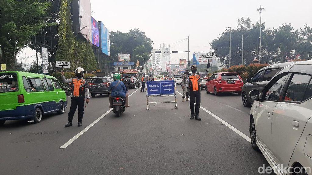 Ganjil Genap Bogor, Petugas Putar Balik 1.946 Kendaraan-Tutup Pintu Tol