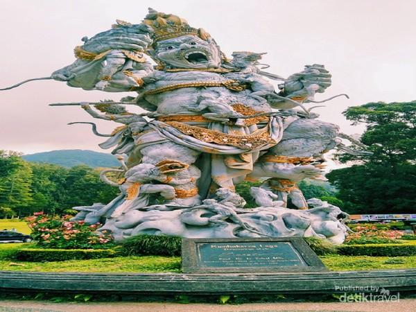 Spot foto Kebun Raya Bali