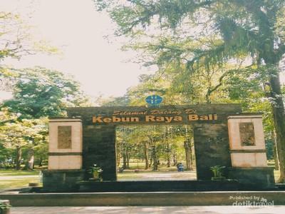 Satu Lagi yang Hijau dari Bali, Hutan Botani
