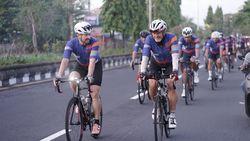 Gowes 127 Km, Peserta dari 8 Negara Antusias Ikuti Pre-event HKEC di Bali