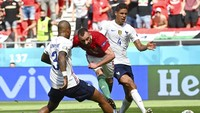 Babak I Selesai, Prancis Tertinggal 0-1 dari Hungaria