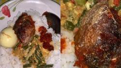 Jijik! Netizen Temukan Belatung di Kepala Ikan yang Lagi Dimakan