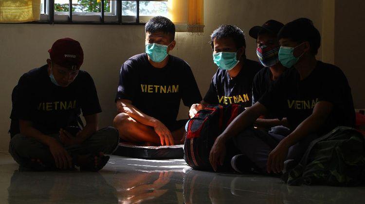 24 Nelayan Vietnam Pencuri Ikan Dideportasi