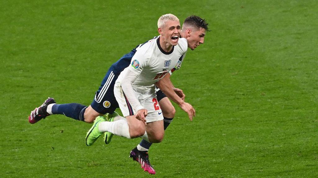 Euro 2020: Inggris Vs Skotlandia Berakhir Tanpa Pemenang