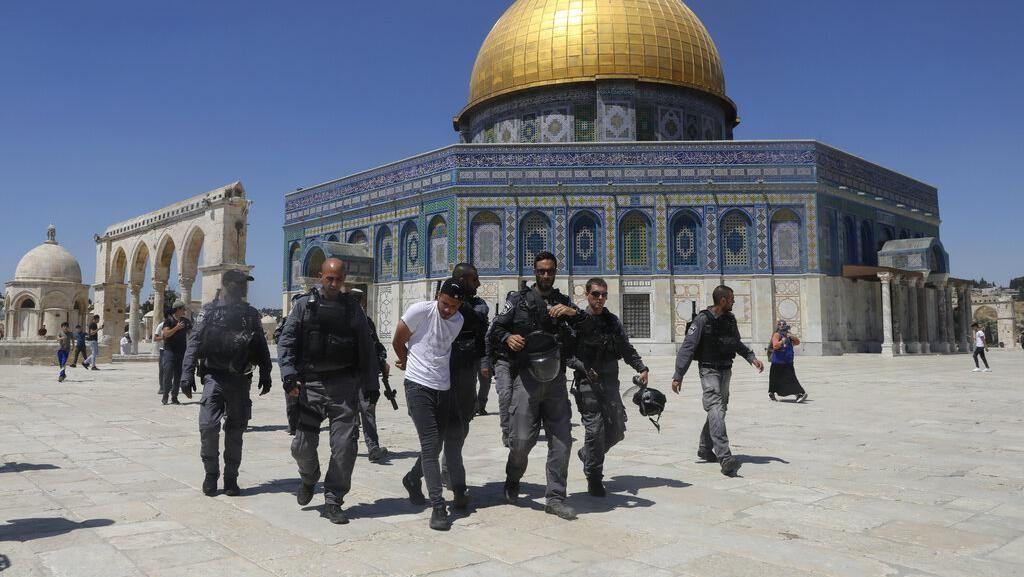 10 Warga Palestina Ditangkap Israel Imbas Bentrok di Masjid Al-Aqsa