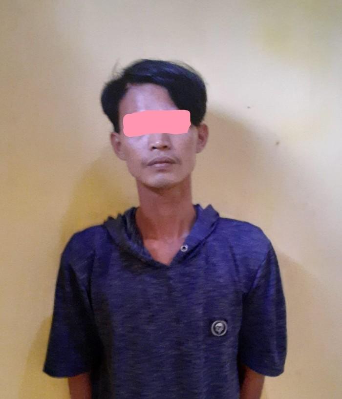 Pelaku pemerkosaan perempuan usia 60 tahun di Tangerang. (Dok Polsek Mauk)