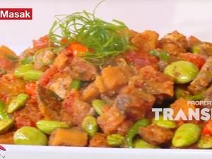 Masak Masak: Resep  Sambal Ikan Jambal Roti Petai yang Bikin Nambah Nasi