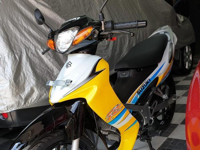 Restorasi Suzuki Satria R LSC