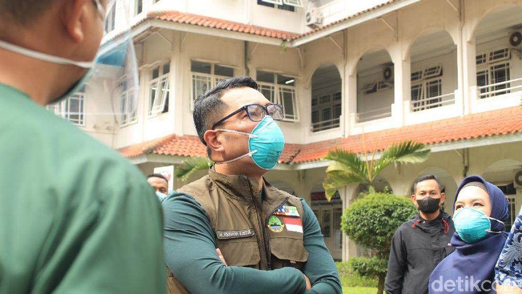 Ridwan Kamil Bakal Bikin Hotel di Jabar Jadi Tempat Isolasi Pasien Covid-19