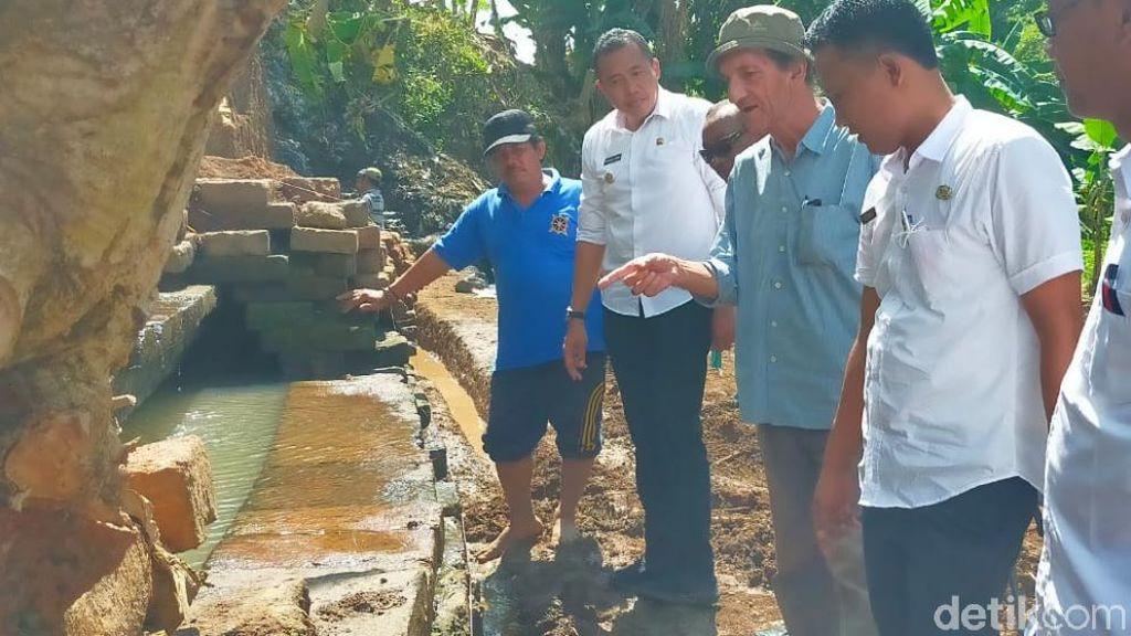 Saluran Air Kuno di Pasuruan Diduga Peninggalan Mpu Sindok