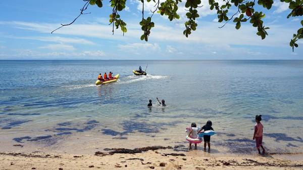 Begini pesona Pantai Tanjung Alinda di Sorong, Papua Barat.