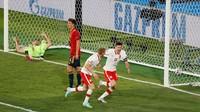 Spanyol Vs Polandia: La Furia Roja Tertahan 1-1