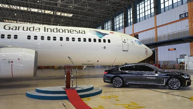 """Garuda Indonesia dan BMW Indonesia luncurkan layanan """"The Prestige Service"""" yang hadirkan layanan transportasi  premium dari dan menuju bandara Soekarno-Hatta."""