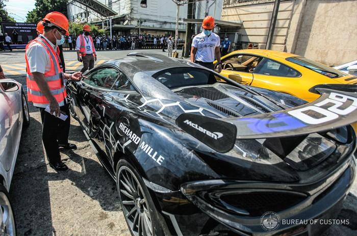 Bentley Hingga McLaren, Ini Mobil Selundupan yang Dimusnahkan Bea Cukai Filipina