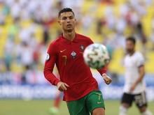Portugal Vs Jerman: Saat Cristiano Ronaldo Gaspol 32 Km per Jam