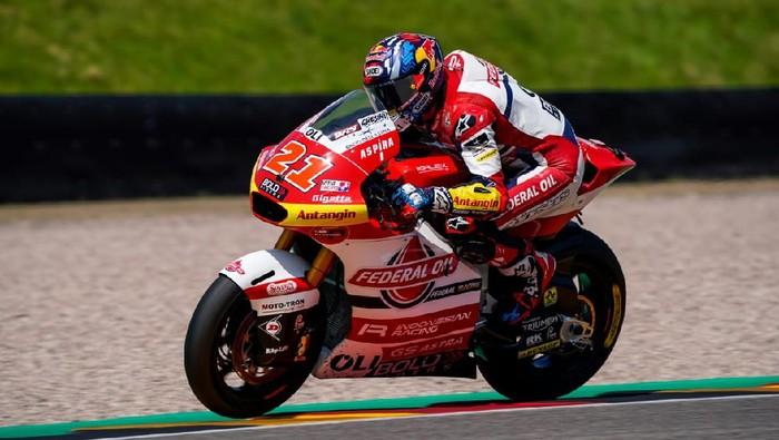 Fabio Di Giannantonio dan rider tim-tim Indonesia berburu podium di Moto2 yang berlangsung di Jerman.