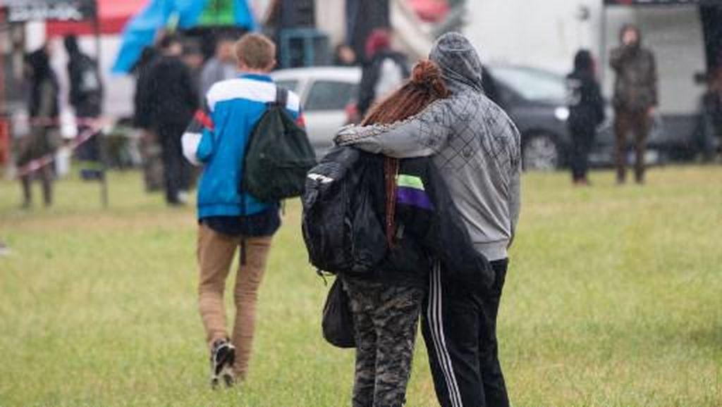 5 Polisi Prancis Terluka Saat Bentrok dengan Pengunjung Pesta Ilegal