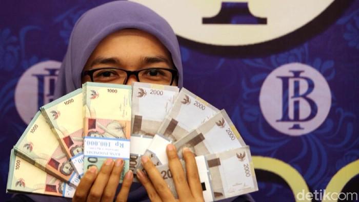 Ilustrasi Bank Indonesia, Logo Bank Indonesia, bank indonesia, ilustrasi uang, penukaran uang, ilustrasi penukaran uang