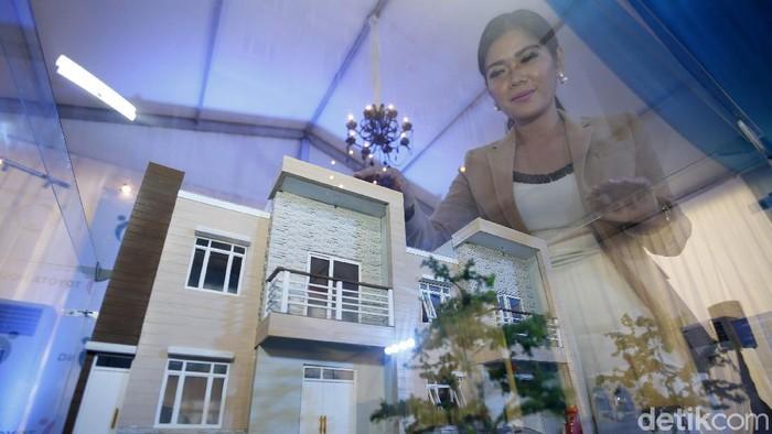 Ilustrasi Rumah Mewah, maket rumah mewah, rumah 2 lt,