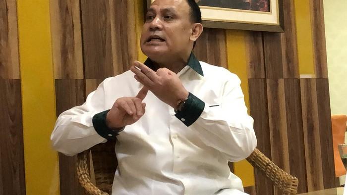 Ketua KPK Komjen Pol Firli Bahuri