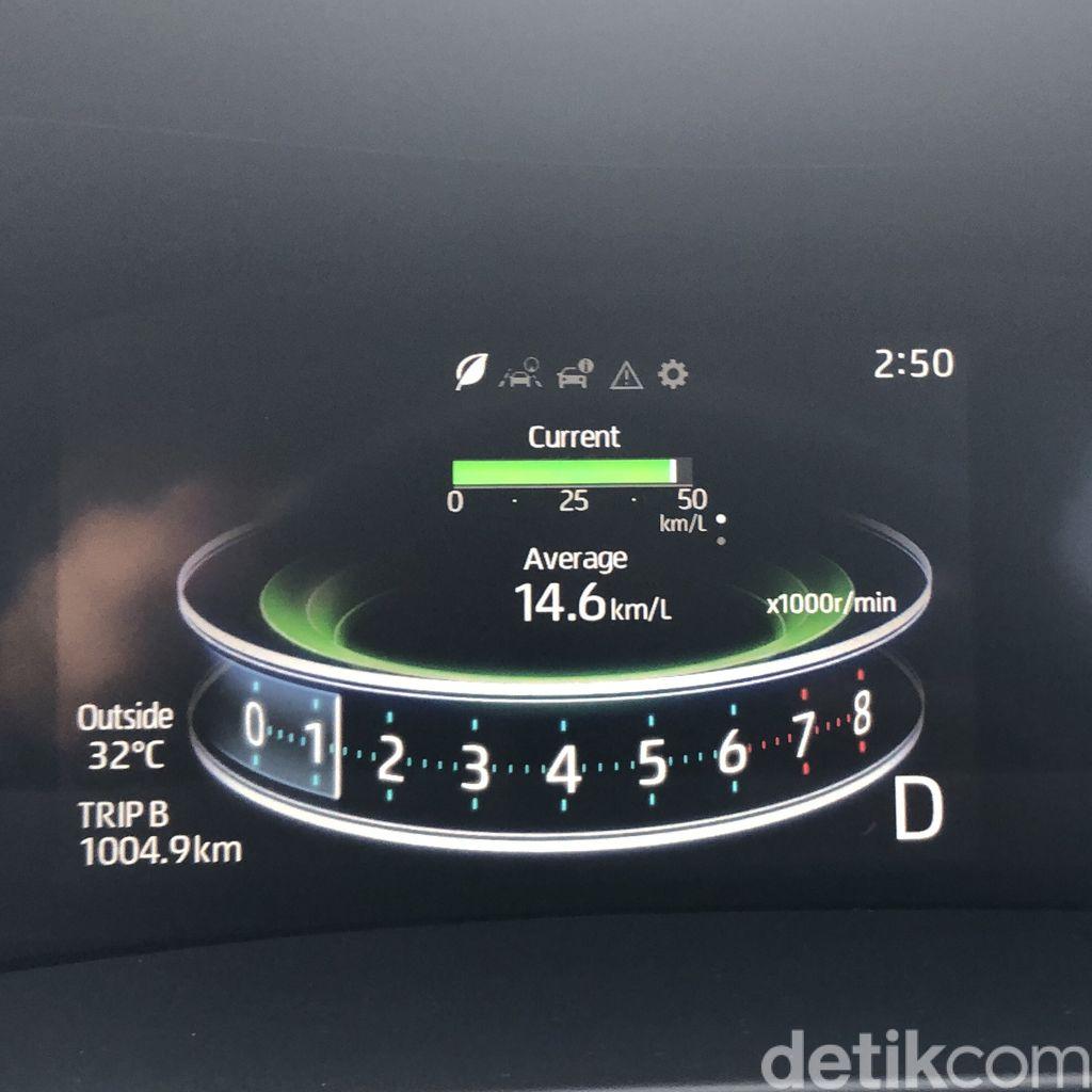 Konsumsi Bahan Bakar Daihatsu Rocky 1.0 R TC CVT ASA yang dilakukan oleh detikOto