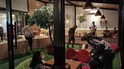 Langgar Jam Buka, Kafe di Depok Disegel